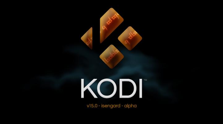 Kodi 15.0 Alpha 1: Isengard